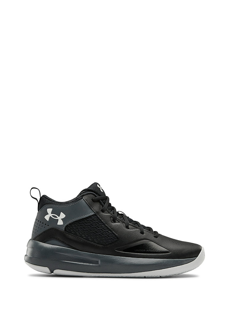 Pantofi de piele pentru baschet cu insertii textile Lockdown 5 de la Under Armour