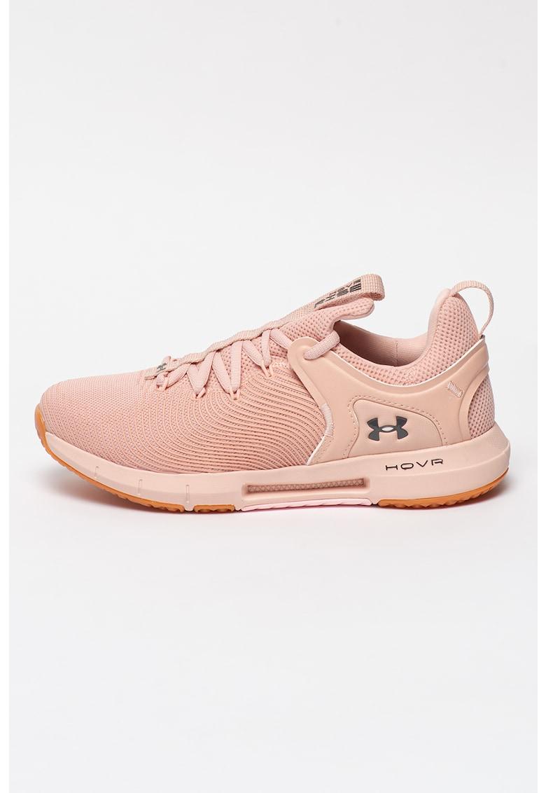 Pantofi slip-on din material textil - pentru fitness Hovr Rise 2 imagine fashiondays.ro 2021
