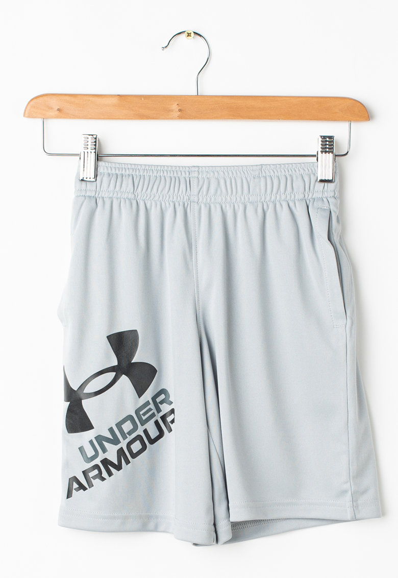 Pantaloni scurti lejeri cu imprimeu logo pentru fitness Prototype 2.0 imagine fashiondays.ro 2021
