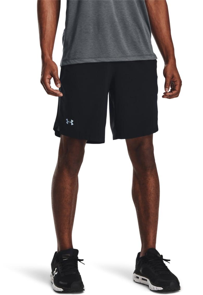 Pantaloni scurti cu elemente reflectorizante - pentru alergare Launch Under Armour fashiondays.ro