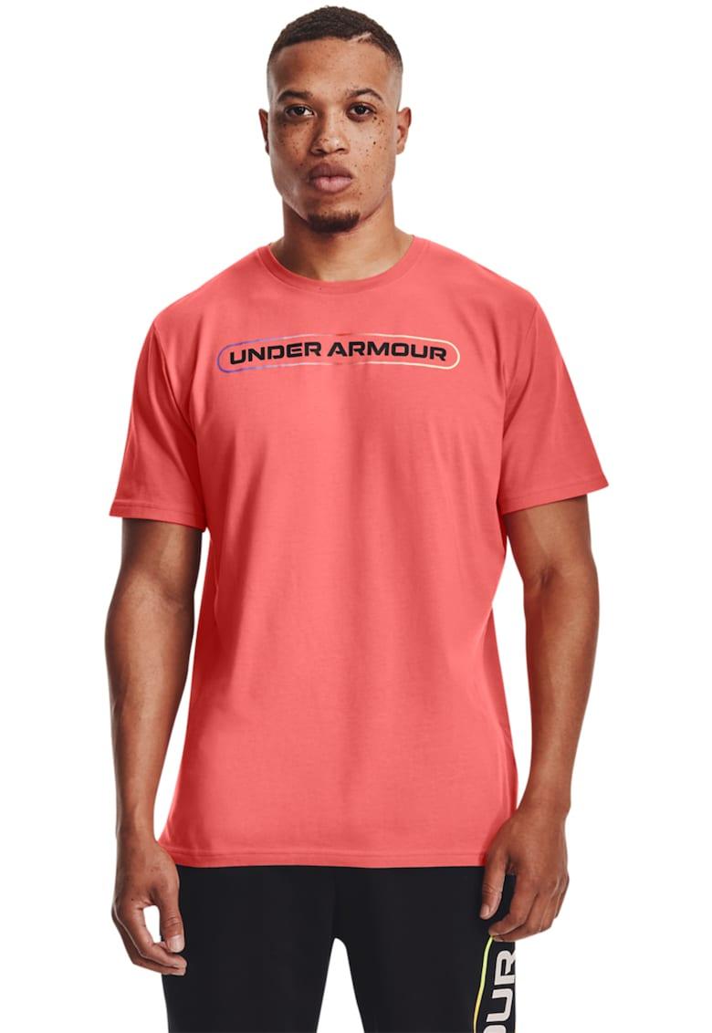 Tricou cu decolteu la baza gatului - pentru fitness Lockertag Bărbați imagine