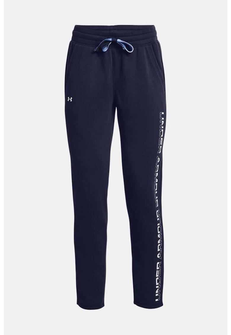 Pantaloni sport lejeri - conici - pentru fitness Rival Fleece Gradient