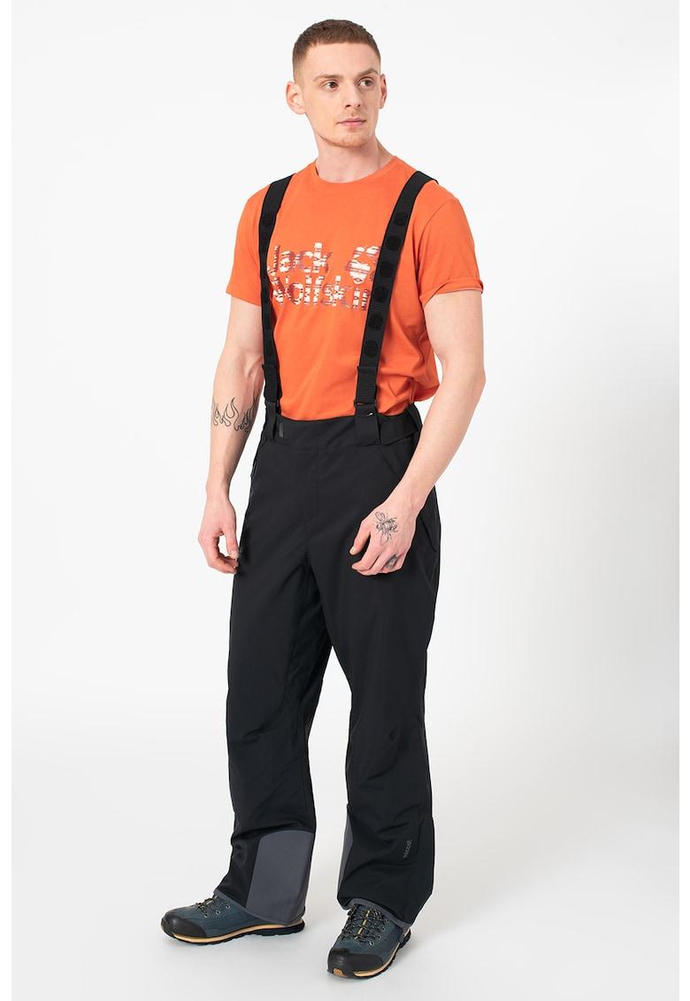 Pantaloni cu bretele pentru schi Exolight poza fashiondays