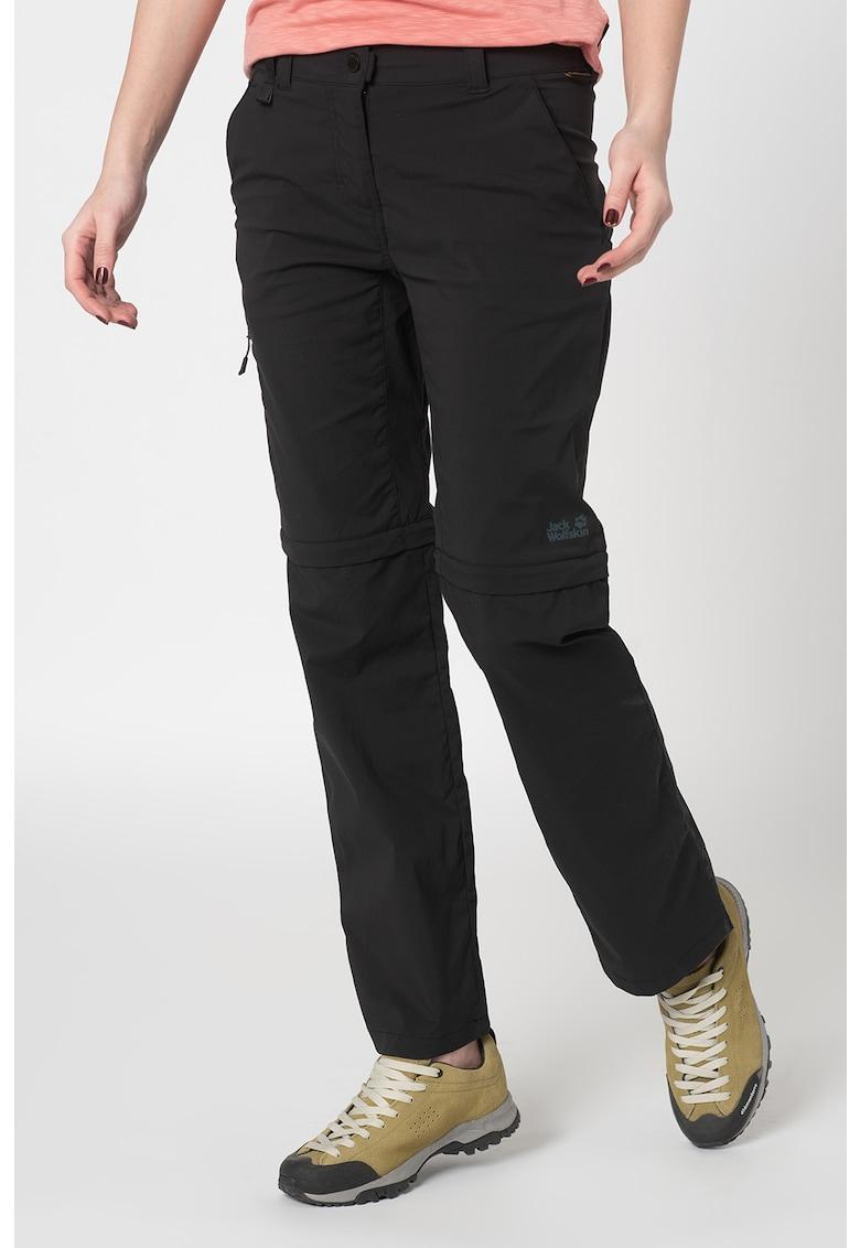 Pantaloni cu fermoar pentru drumetii Activate Light