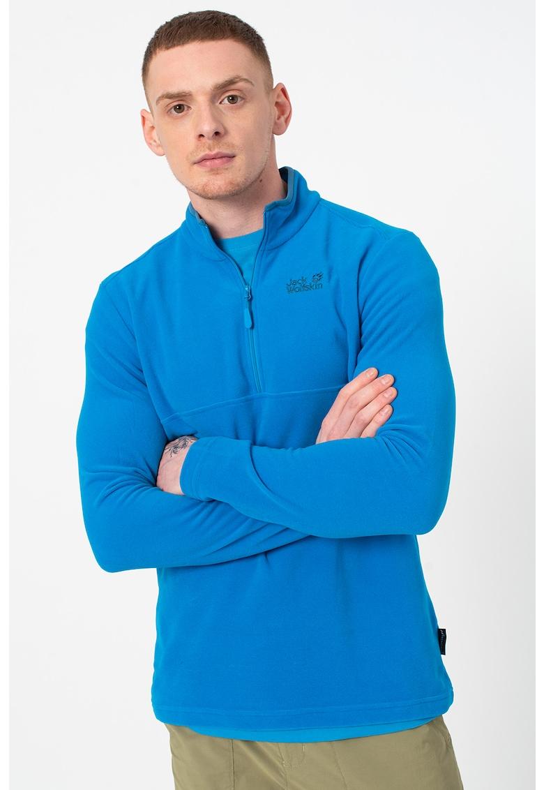 Bluza din material fleece cu fenta cu fermoar Arco