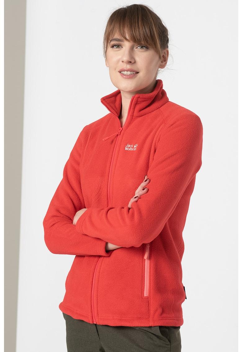 Bluza de fleece cu fermoar - pentru drumetii Midnight Moon imagine fashiondays.ro 2021