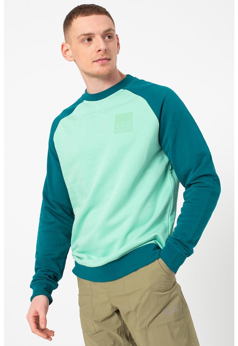 Bluza sport din amestec de bumbac organic - pentru drumetii 365