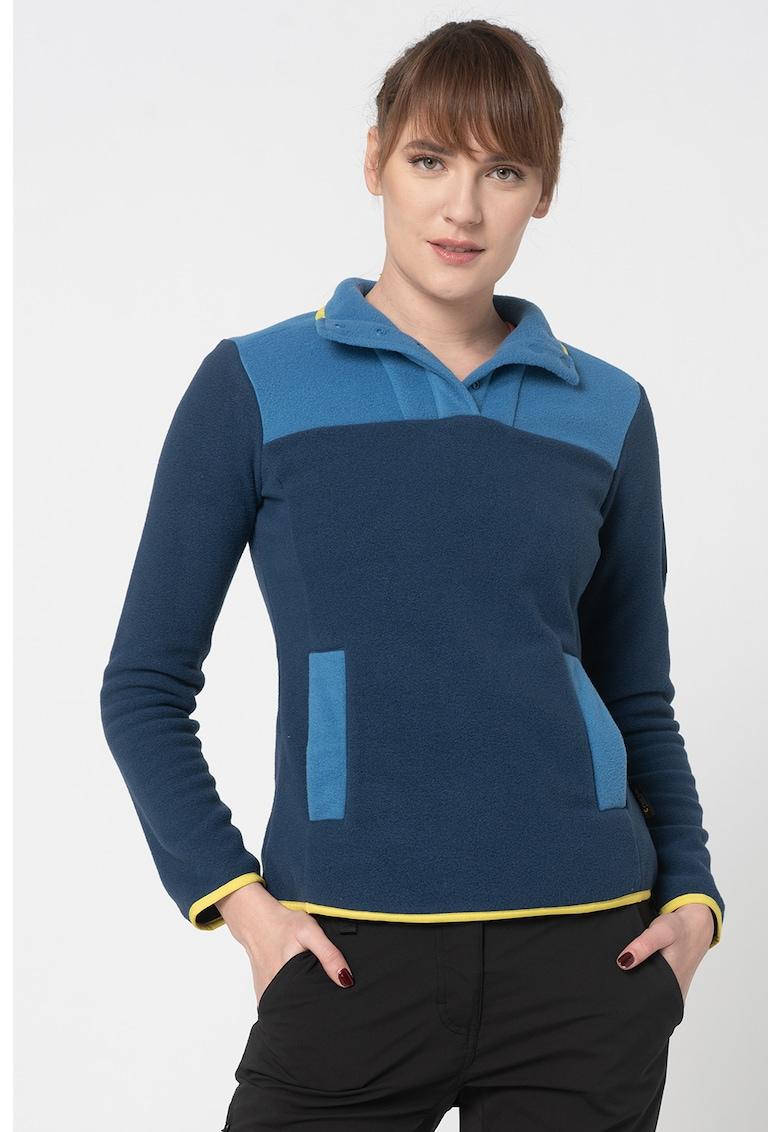 Bluza sport din material fleece 365 Flash imagine fashiondays.ro Jack Wolfskin