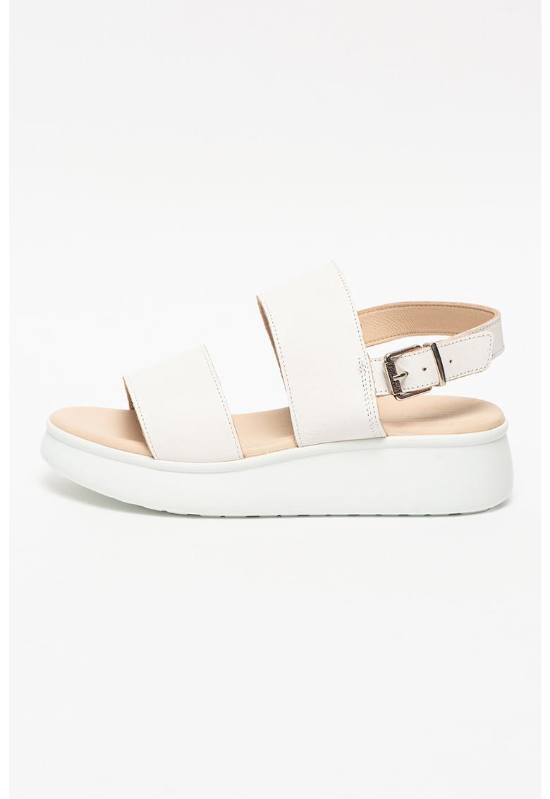 Sandale slingback de piele Wendy