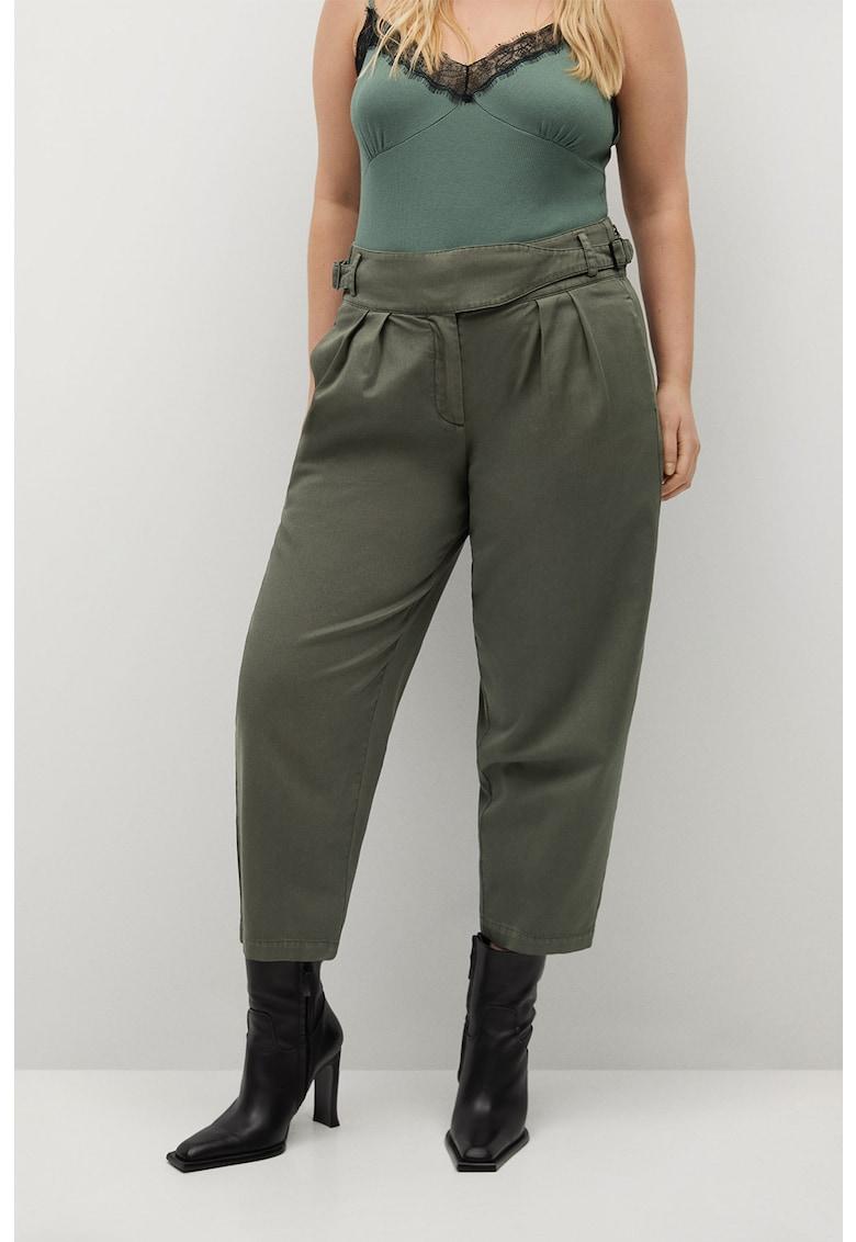 Pantaloni crop cu talie inalta Toulouse