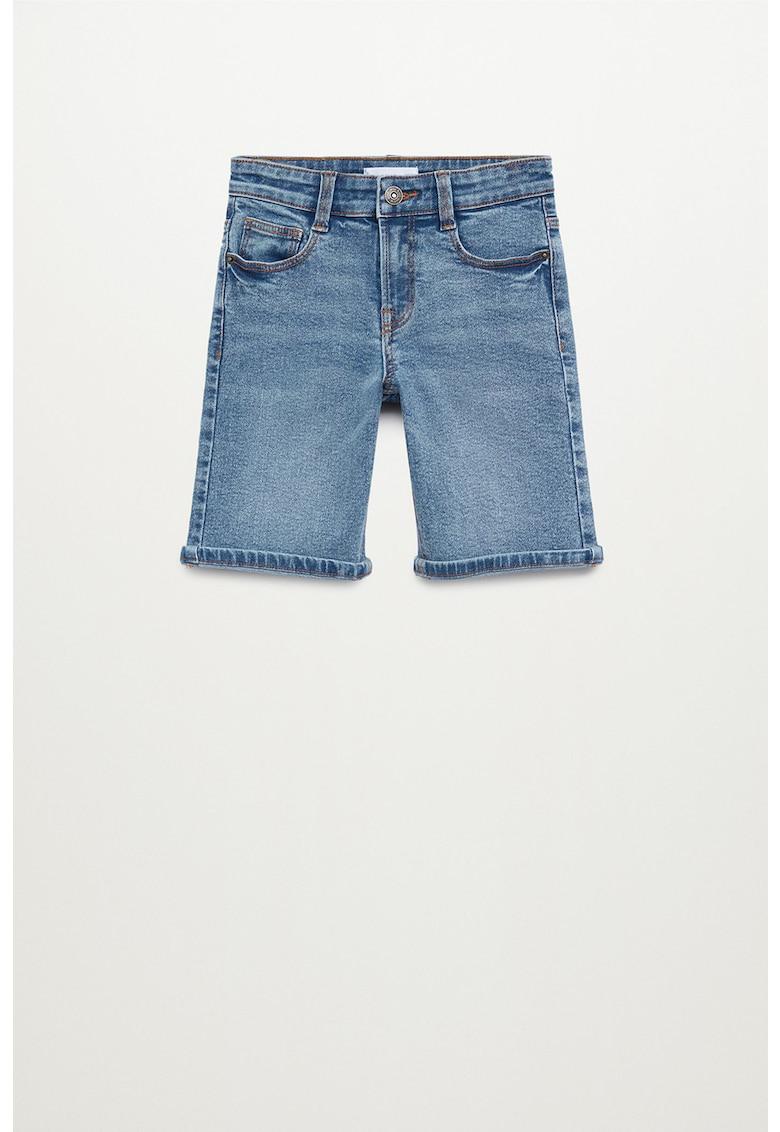 Pantaloni scurti din denim John fashiondays.ro
