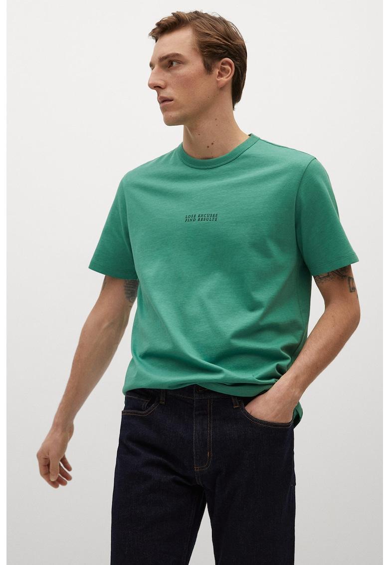 Tricou regular fit de bumbac organic Lisboa Bărbați imagine