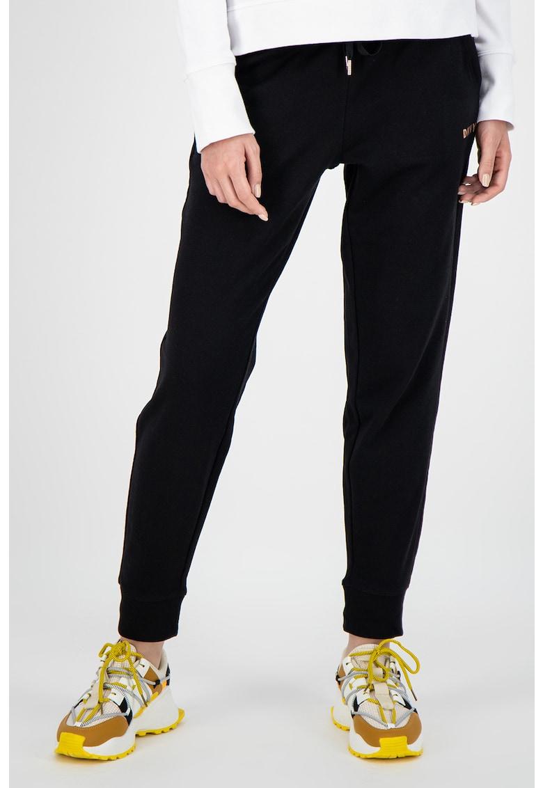 Pantaloni sport conici cu talie ajustabila