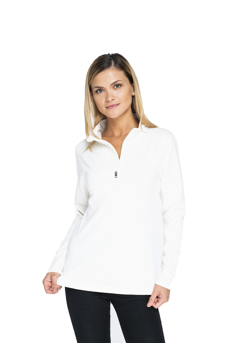 Bluza sport cu fermoar - pentru drumetii Vanda imagine