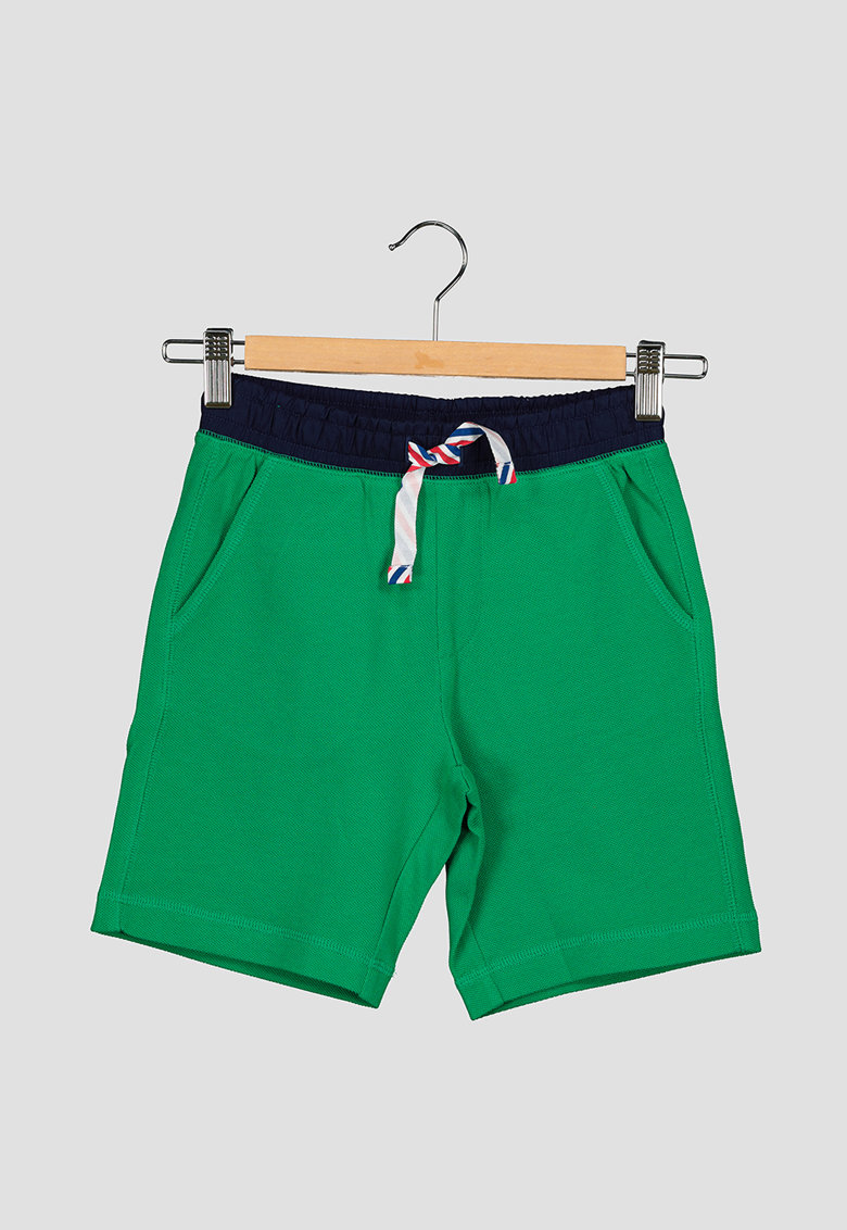 United Colors of Benetton Pantaloni sport scurti cu buzunare oblice
