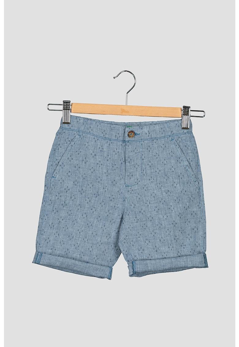 Pantaloni scurti chino din amestec de in fashiondays.ro