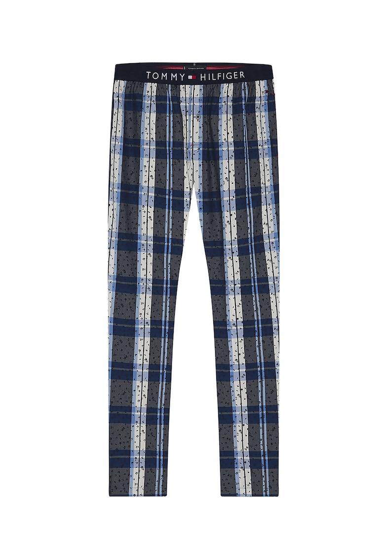 Pantaloni de pijama cu banda logo in talie