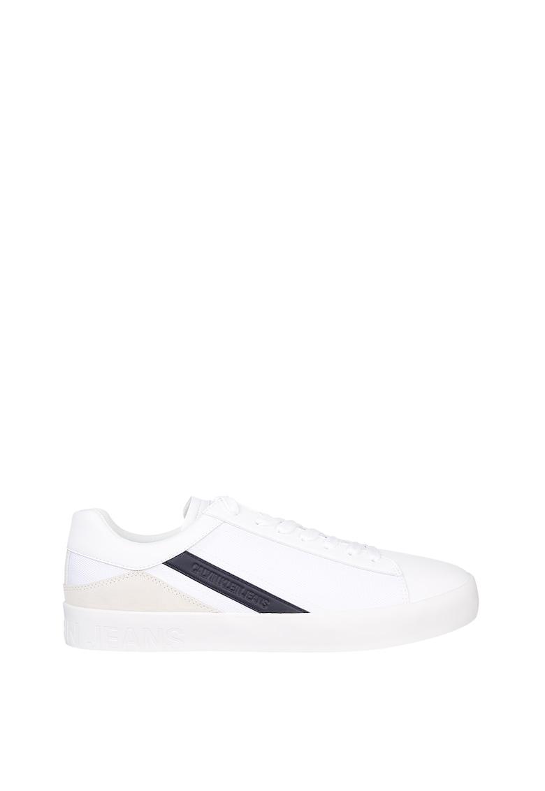 Pantofi sport cu garnituri de piele ecologica imagine