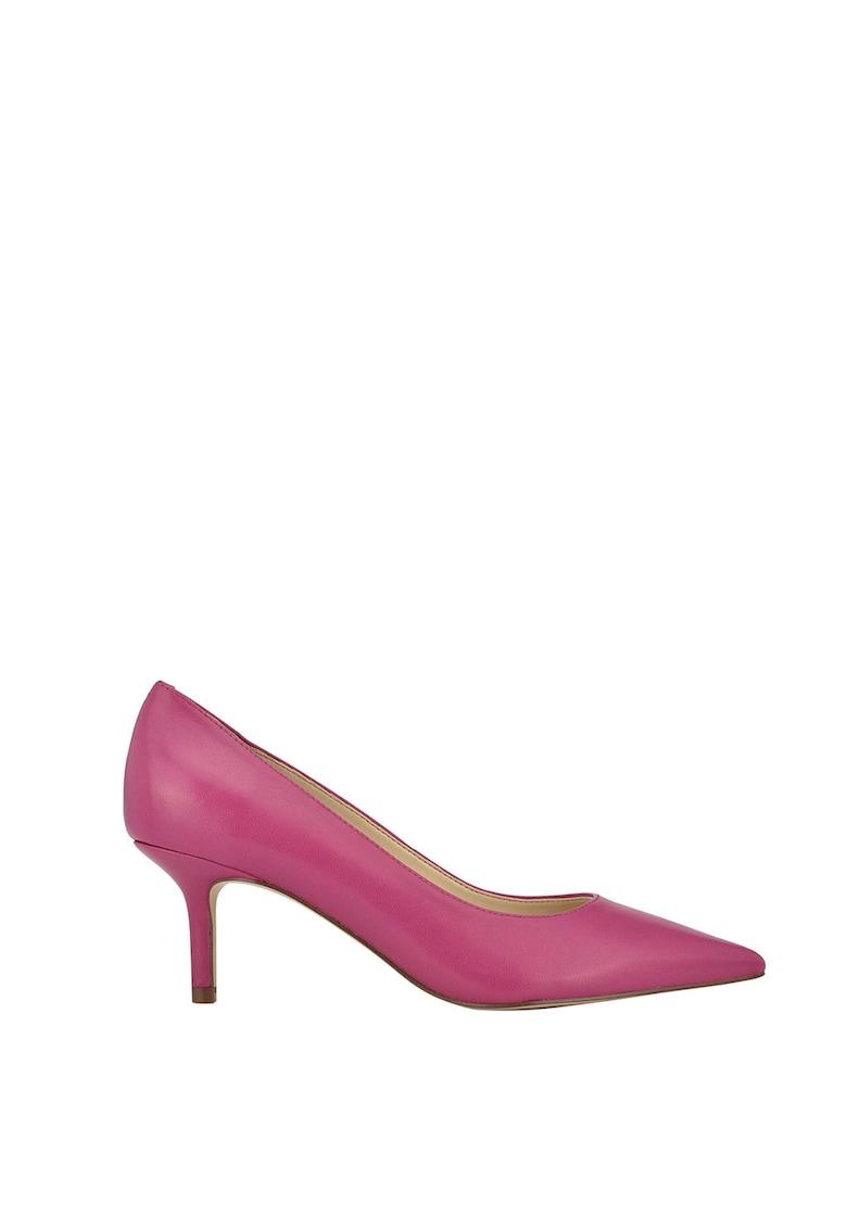 Pantofi de piele cu varf ascutit Arlene