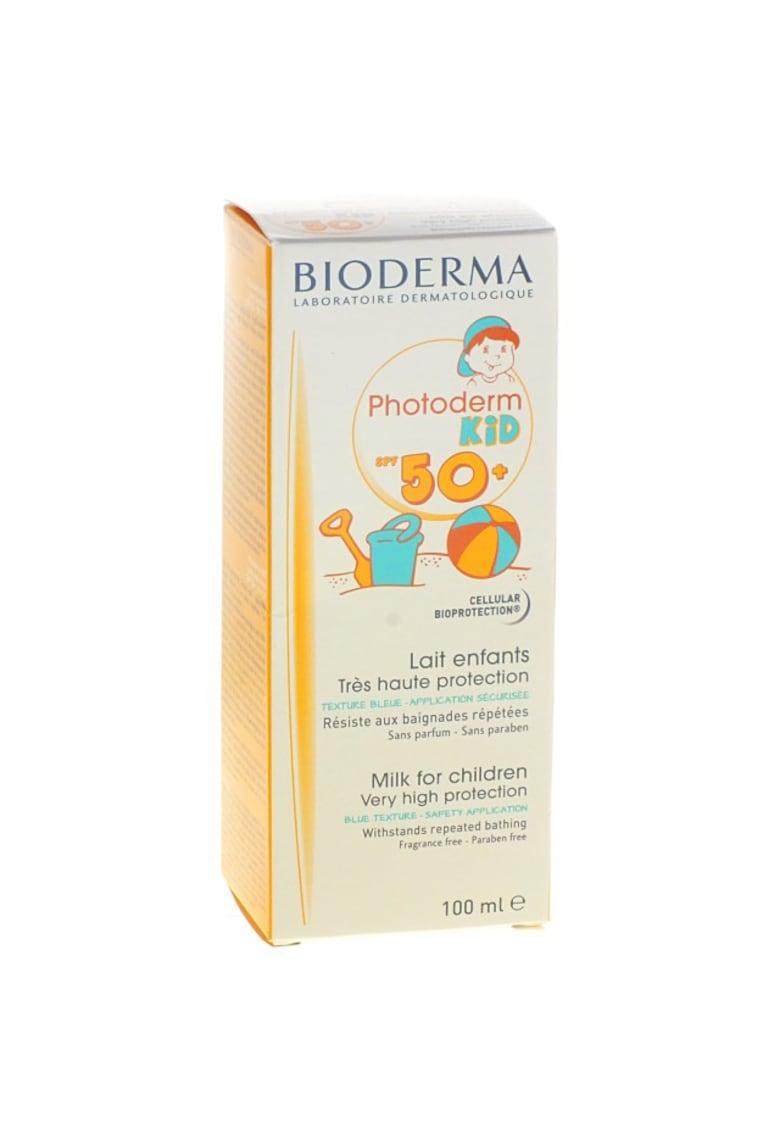 Lapte colorat cu protectie solara  Photoderm Kid SPF 50+ – 100 ml de la Bioderma