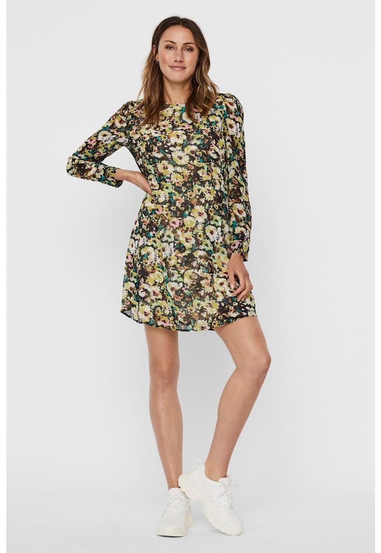 Rochie mini cu imprimeu floral Nilla