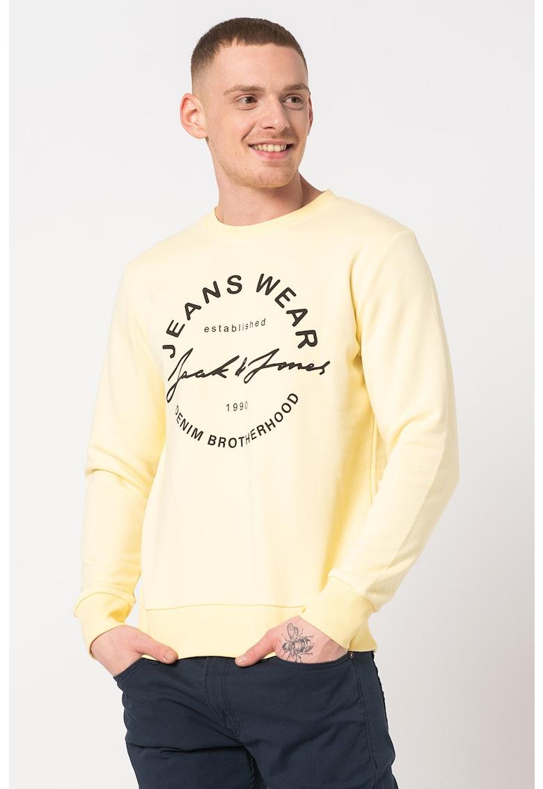 Bluza sport cu imprimeu logo Hero