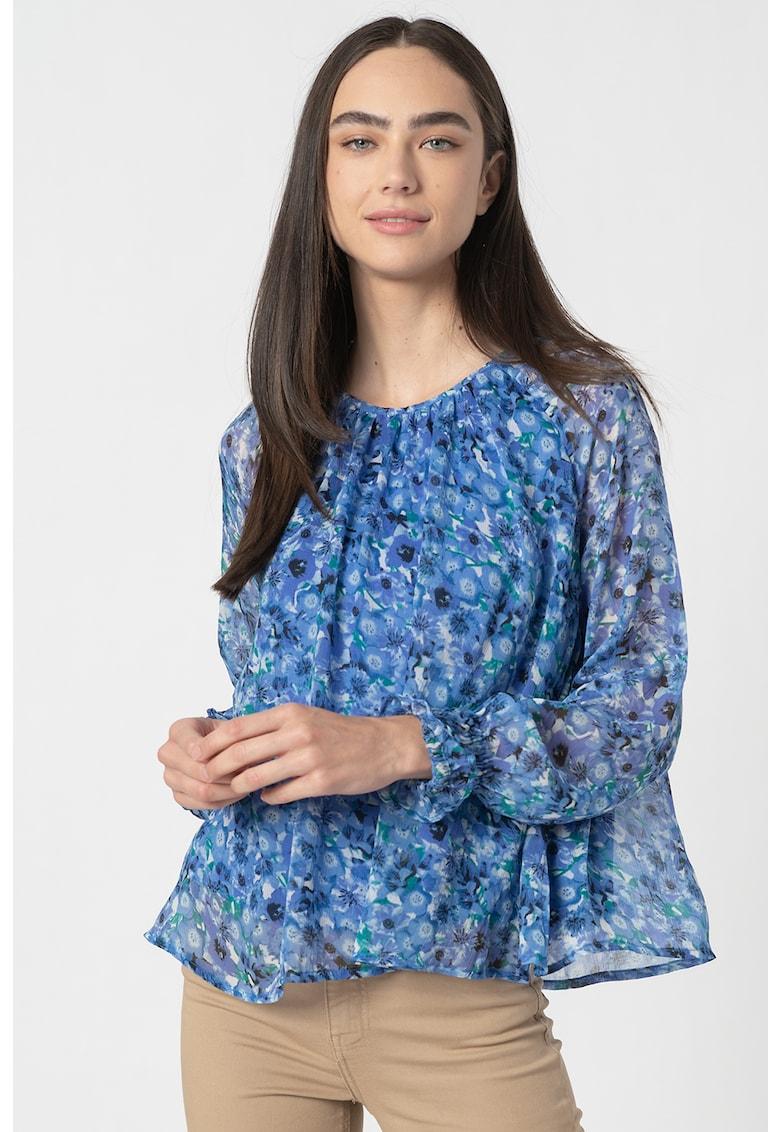 Bluza evazata cu imprimeu floral Dicte
