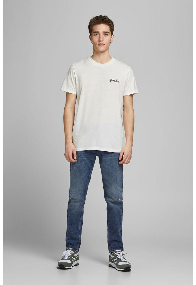 Tricou regular fit cu detaliu logo Bărbați imagine