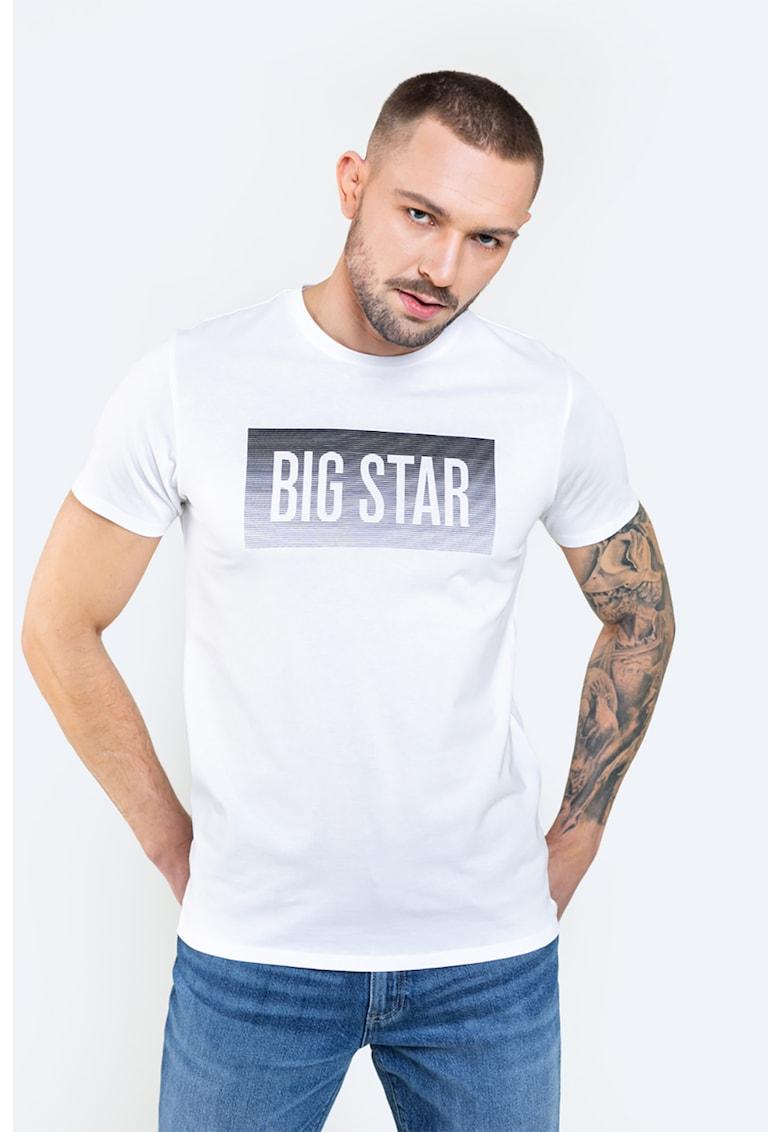 Tricou de bumbac oragnic cu imprimeu logo Bărbați imagine