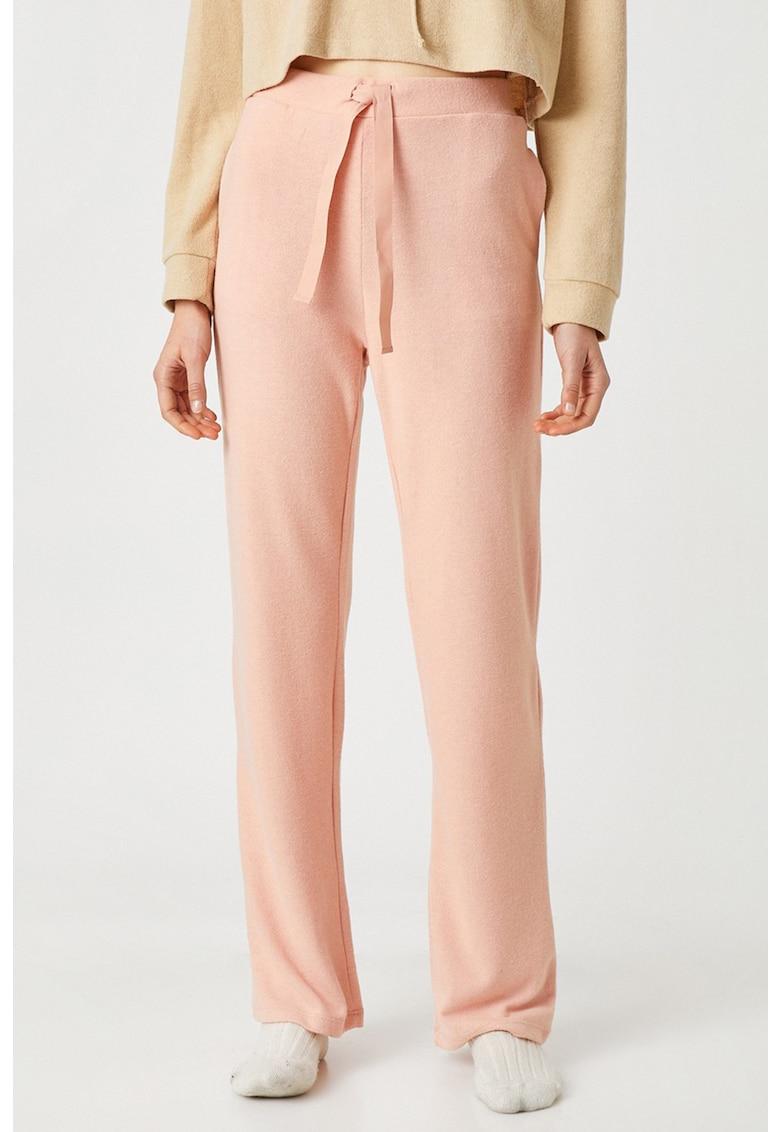 Pantaloni de pijama cu snur de ajustare