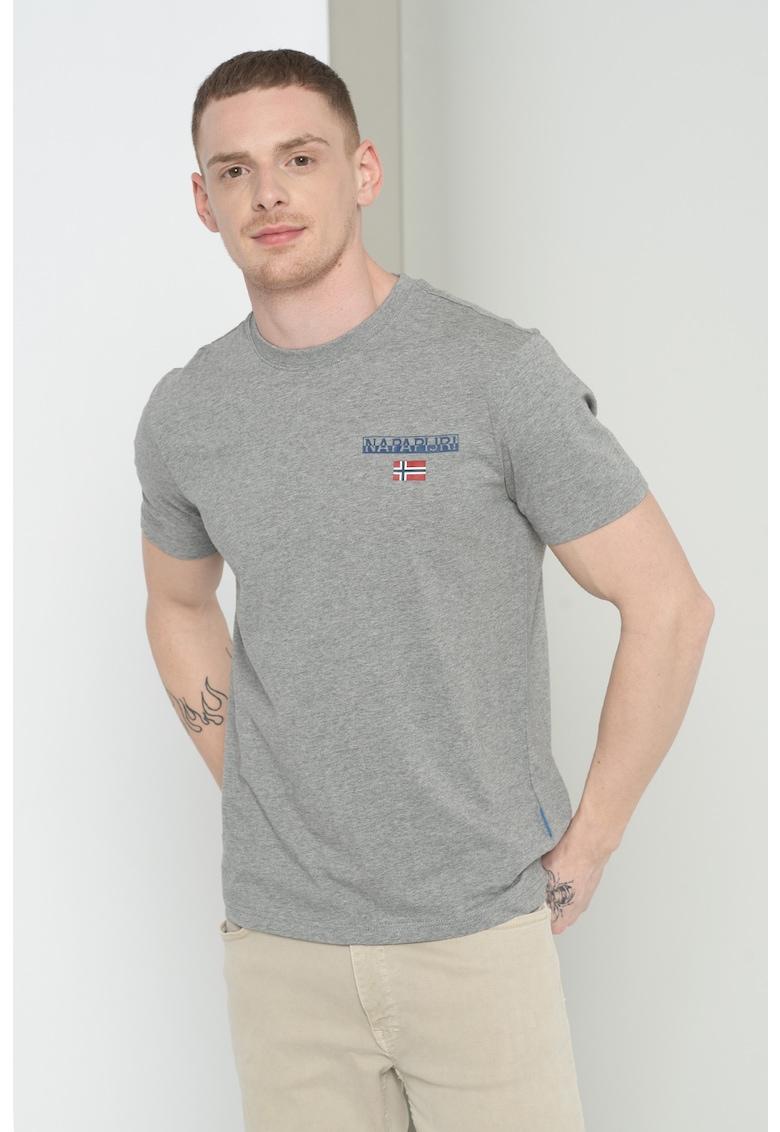 Tricou cu decolteu la baza gatului S-Ice