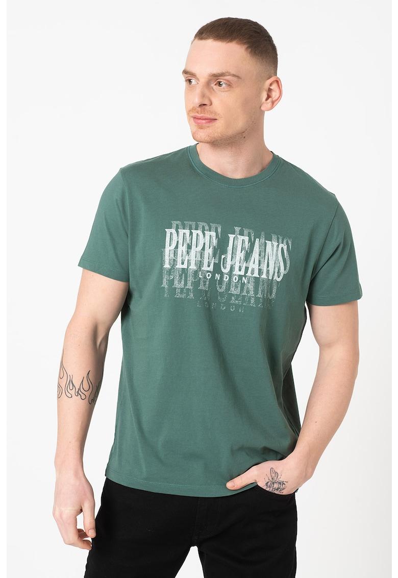 Tricou cu imprimeu logo Snow Bărbați imagine