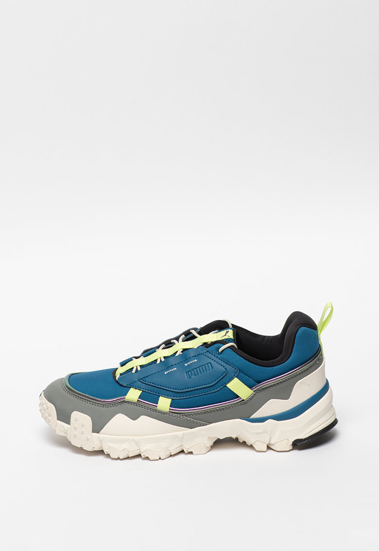 Pantofi sport cu insertii de piele Trailfox Overland