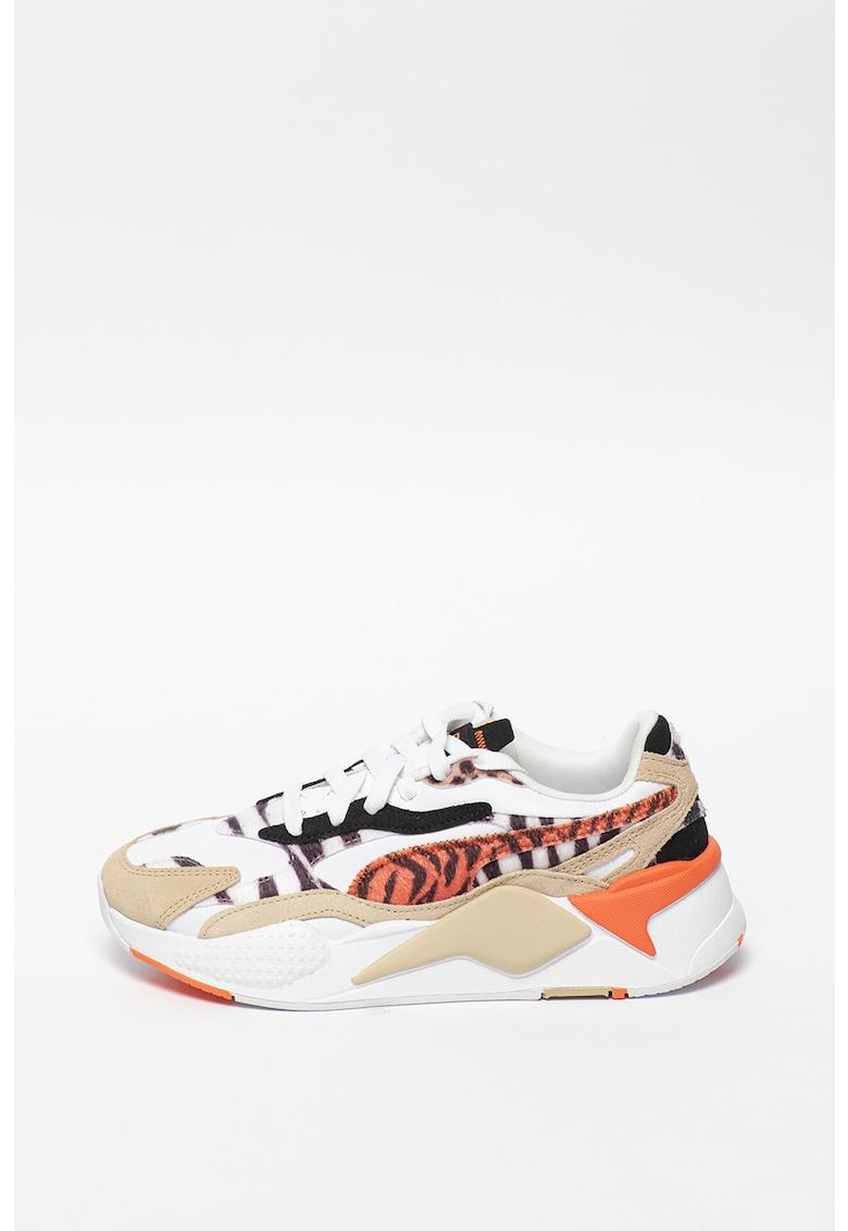 Pantofi sport cu garnituri animal print RS-X Puma fashiondays.ro