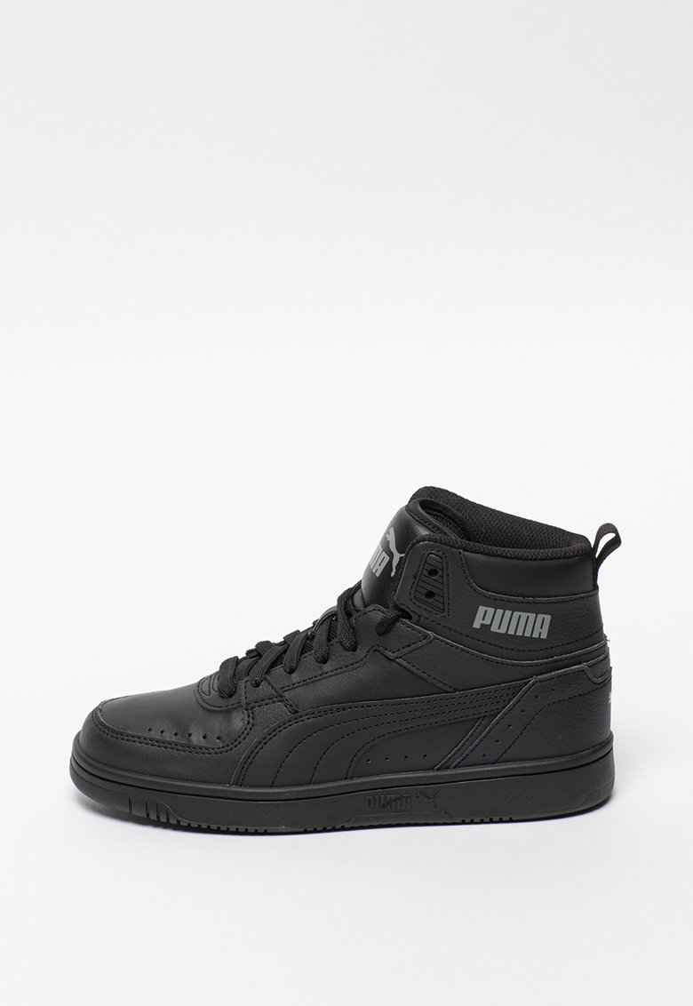 Pantofi sport mid-high de piele ecologica Rebound Joy Jr
