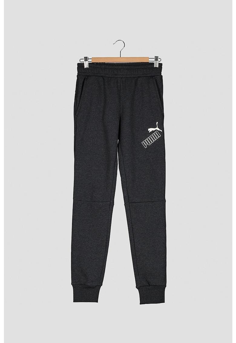 Pantaloni sport cu detalii logo Amplified