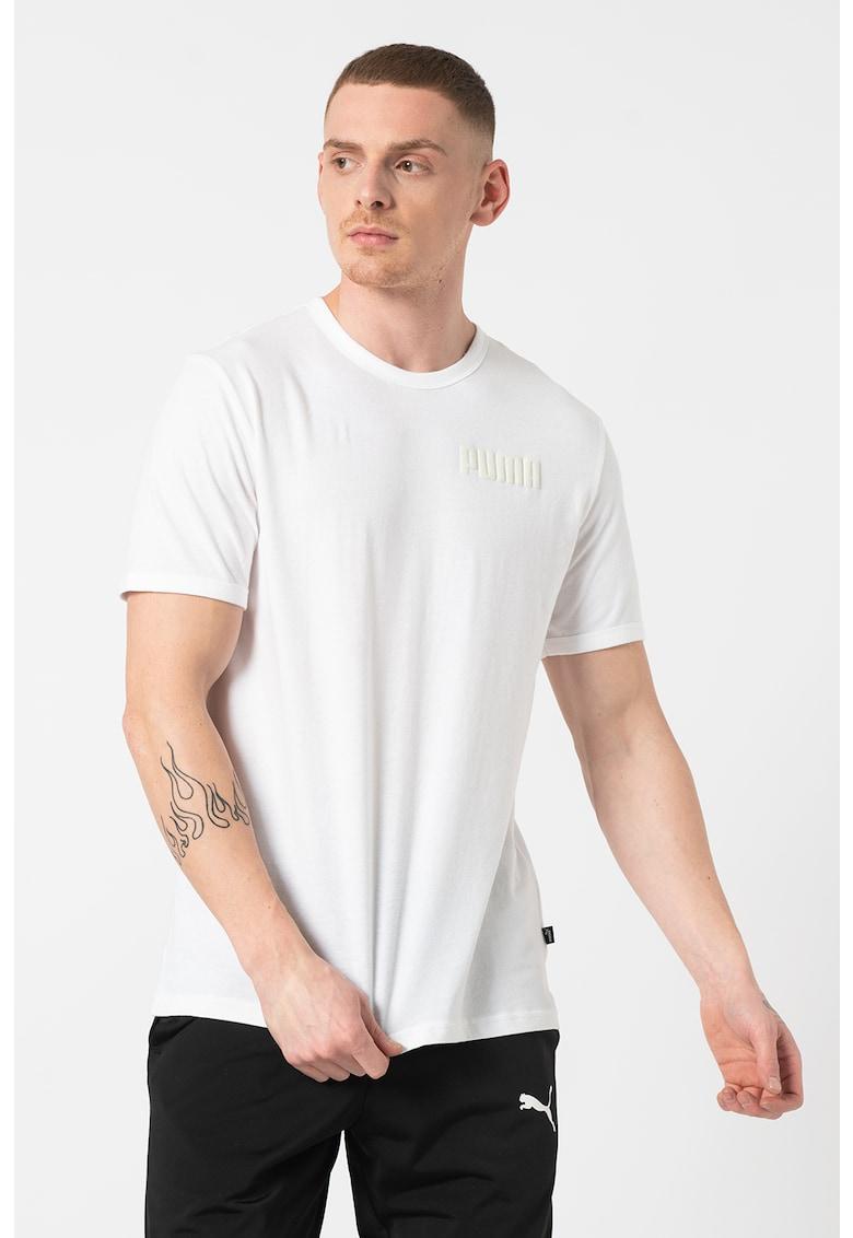 Tricou cu decolteu la baza gatului Modern Basics Bărbați imagine