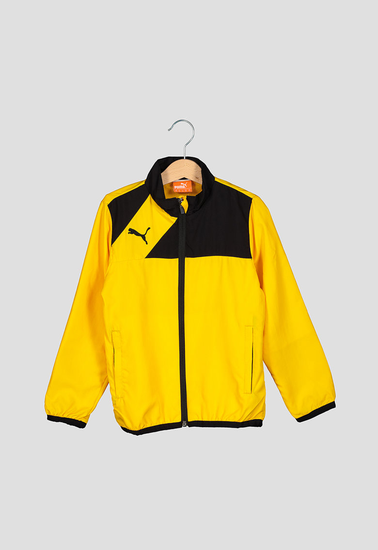 Jacheta cu fermoar si logo - pentru fotbal