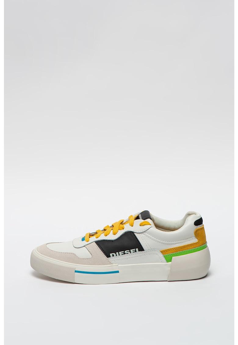 Pantofi sport low cut cu insertii de piele S-Dese MG Diesel fashiondays.ro