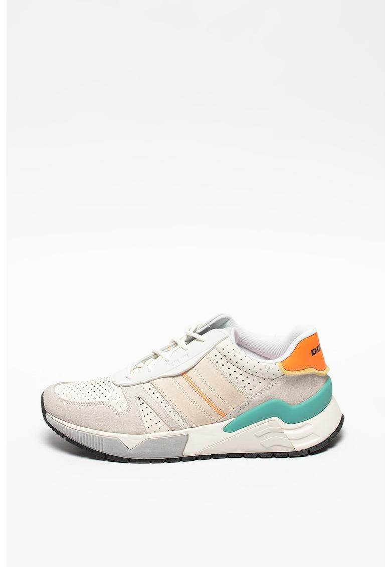 Pantofi sport de piele si piele intoarsa S-Brentha