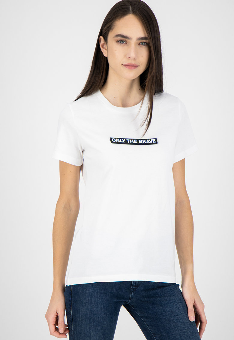 Tricou cu slogan aplicat T-Sily