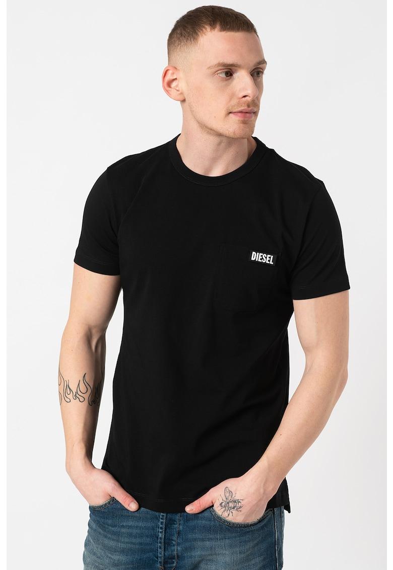 Tricou cu decolteu la baza gatului T-Worky Bărbați imagine