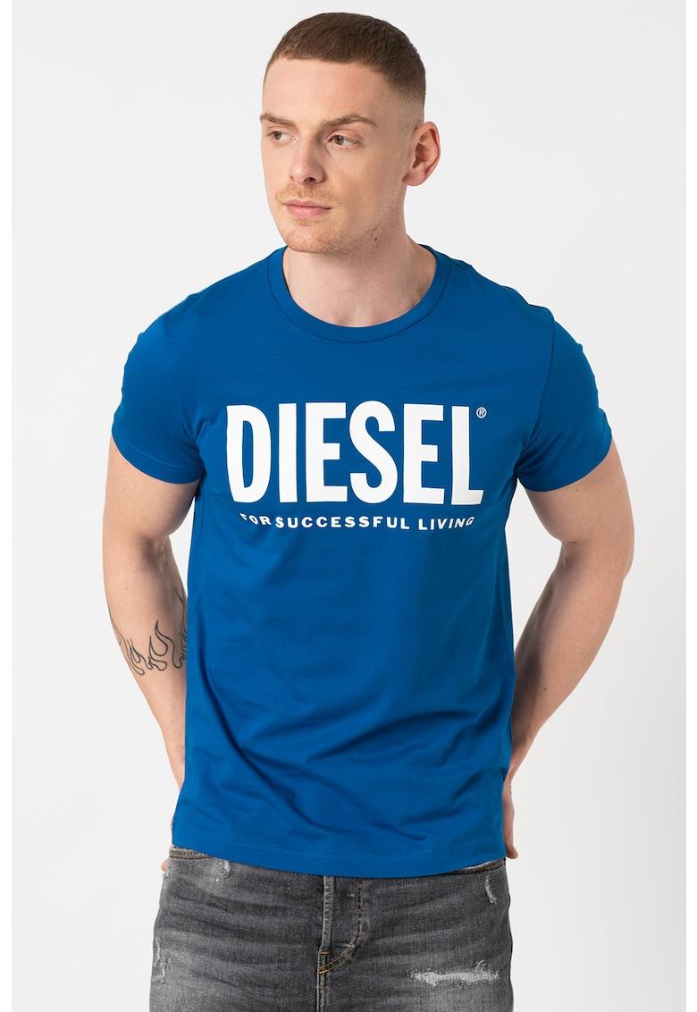 Tricou de bumbac cu imprimeu logo Diego Bărbați imagine