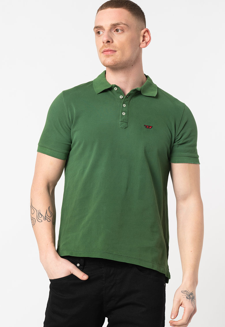 Tricou polo cu detaliu logo Night Bărbați imagine