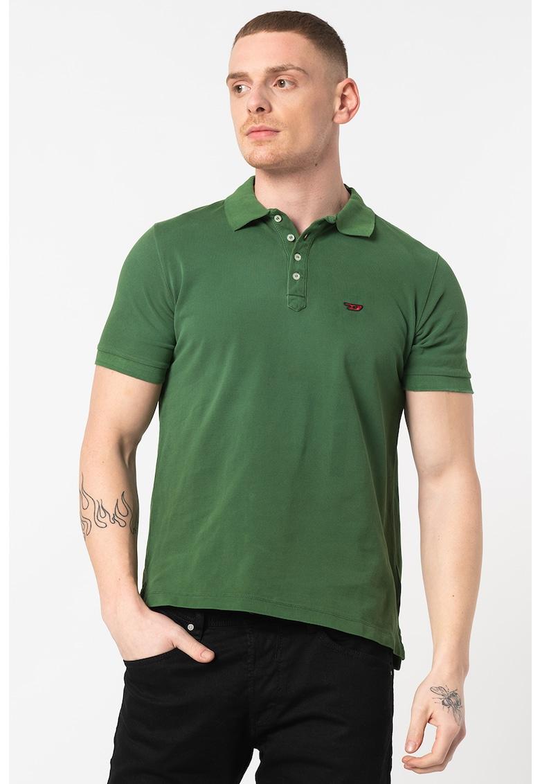 Tricou polo cu detaliu logo Night Bărbați imagine
