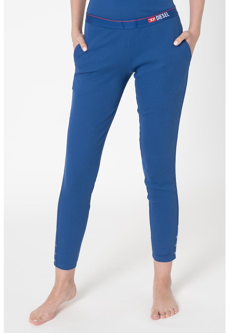 Pantaloni de casa cu aspect striat Babyx