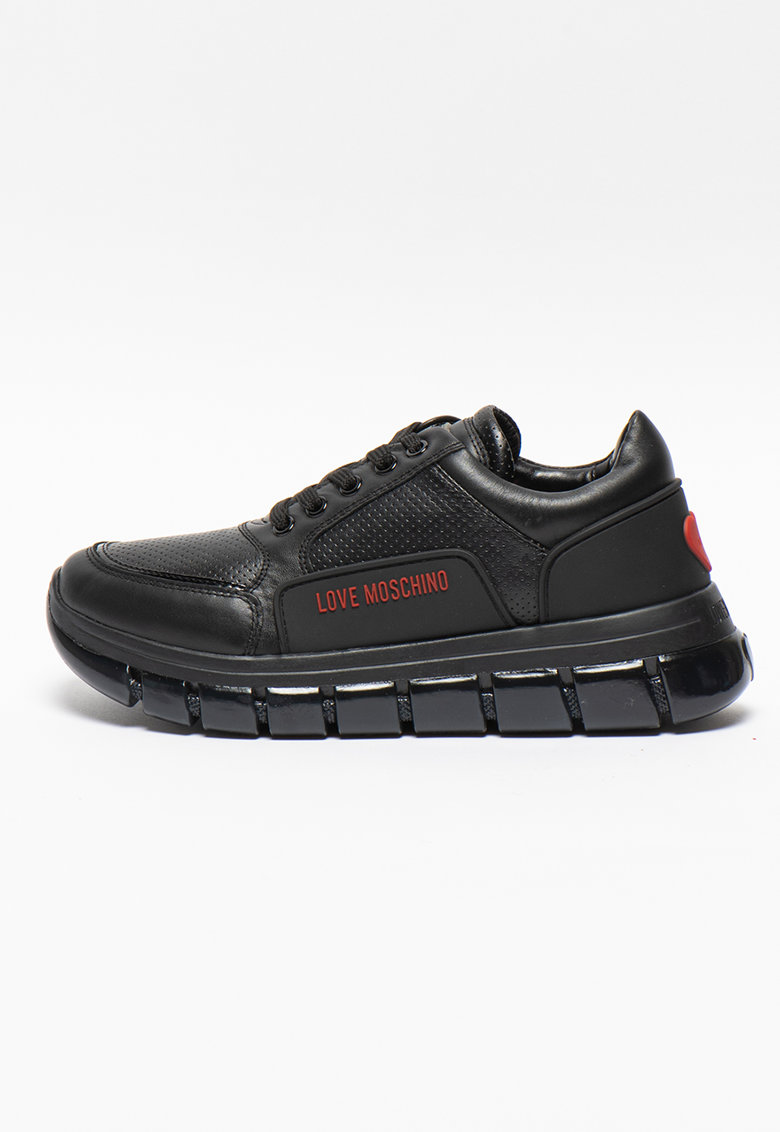 Pantofi sport cu insertii de cauciuc