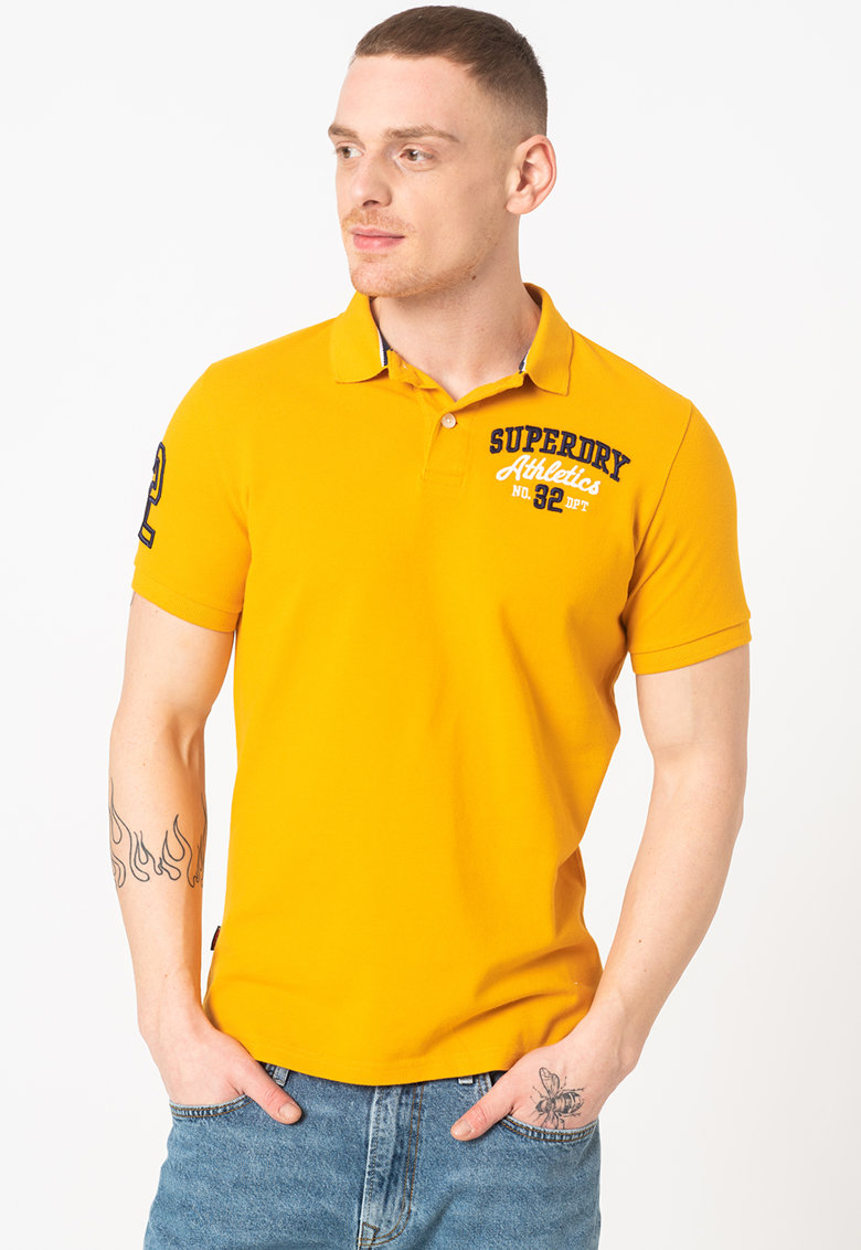 Tricou polo slim fit Classic Superstate Bărbați imagine