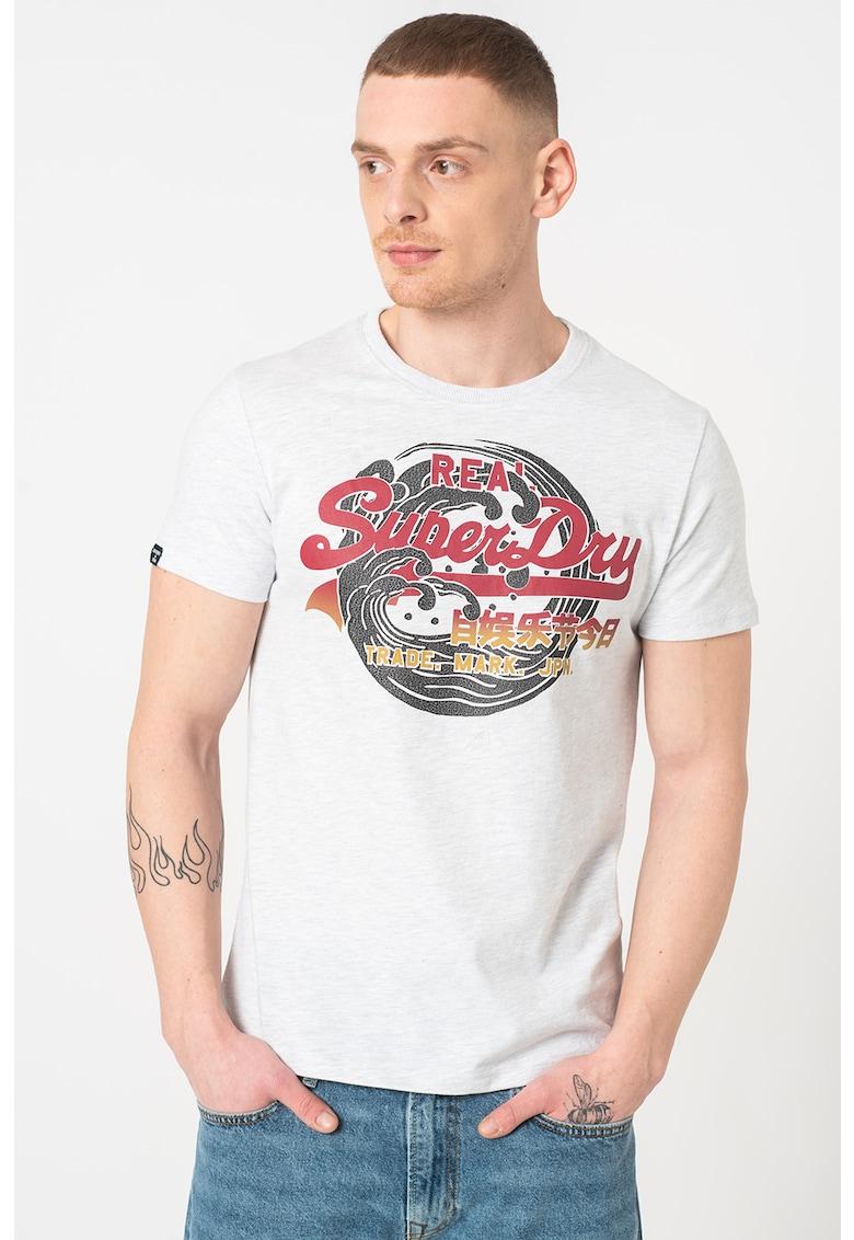 Tricou cu imprimeu logo Itago Bărbați imagine