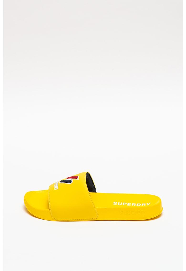 Papuci cu logo Core imagine